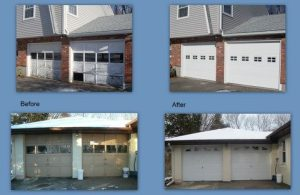 Thermacore® Collection insulated garage doors installed by Overhead Door Company of Waterbury