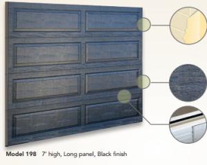 Black Thermacore® Garage Door